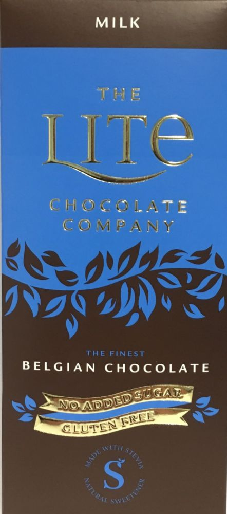 Z53 LITE BELGIAN MILK CHOCOLATE BAR